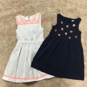 2 summer dresses 3T